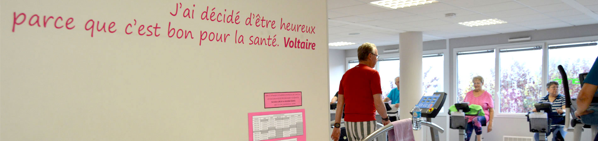 Concept Salle de sport santé SportDical à Saint-Malo