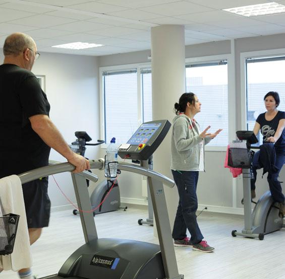Sport sur ordonnance à la salle de sport santé SportDical